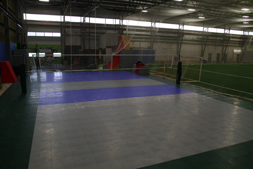 Our MultiPurpose Court! Play some V-ball, or whatever your heart desires!